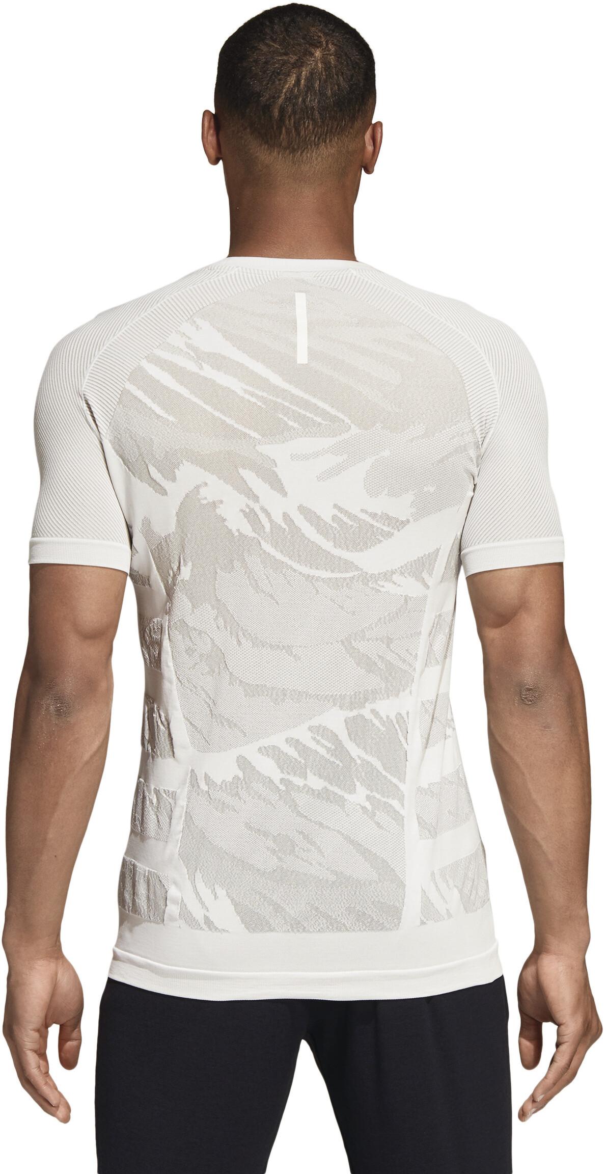 buy popular e9e05 d15a9 adidas Ultra Primeknit Parley Running Shirt longsleeve Men white